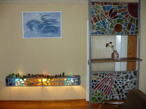 Parduodama autentiška vitražinė sienelė
