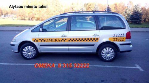 Taksi Alytuje 8 315 32222