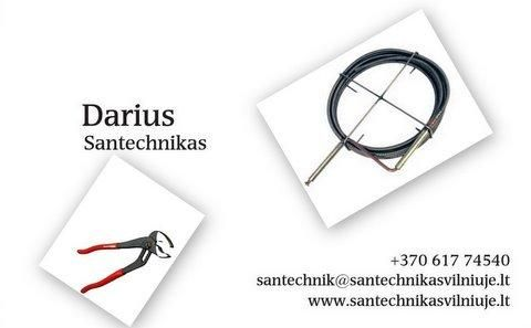 Santechniko paslaugos Vilniuje