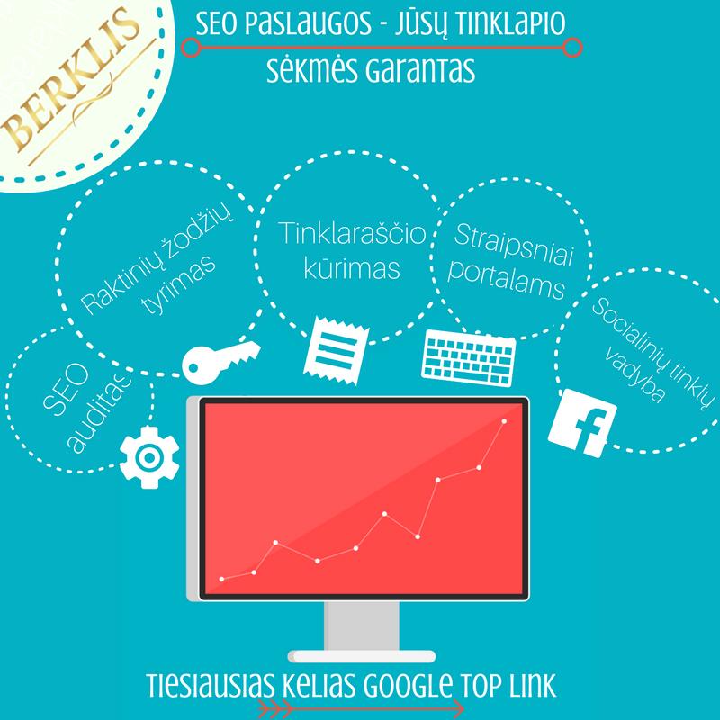 SEO paslaugos – efektyvi tinklapių optimizavimo pagalba Jūsų svetainei