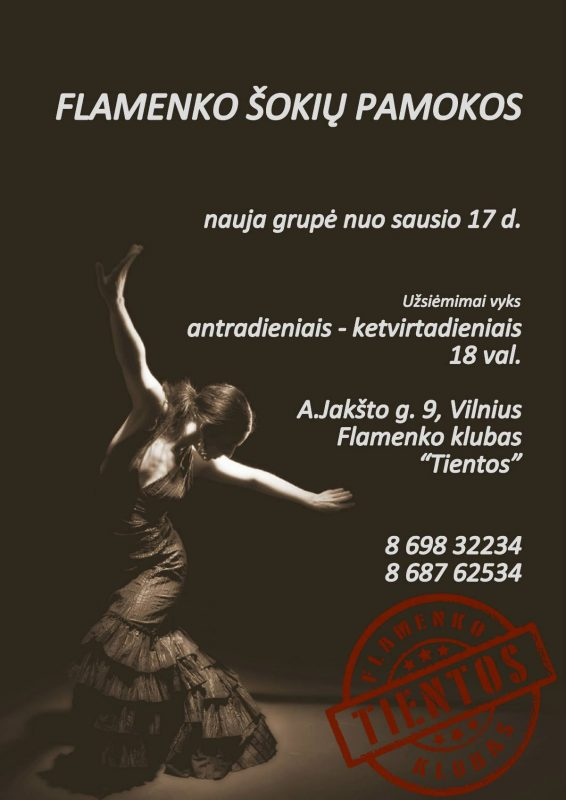 Flamenko šokiai