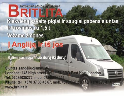 Internetinės prekės iš parduotuviu Ebay ir kt./ Siuntiniai Lietuva – Anglija