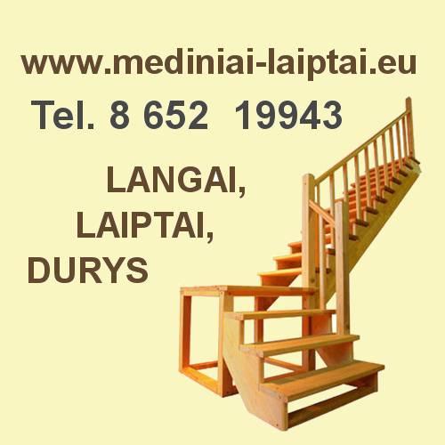 Mediniai laiptai,Klaipėda, Palanga, Kretinga, Vakarų Lietuva