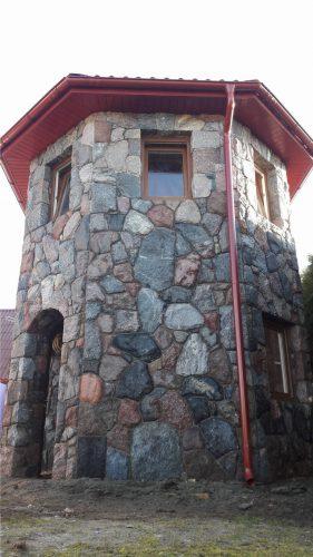 Lauko zidiniai, pavesines, akmens darbai, akmenu skaldymas