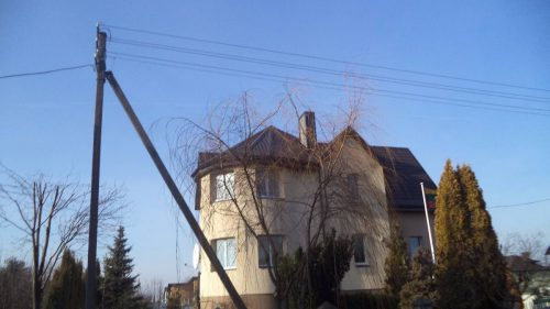 stogu dengimas karkasiniu namu statyba