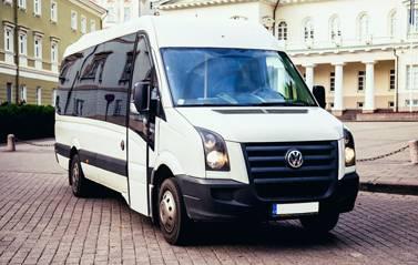 Mikroautobusų nuoma iki 23 vietų / autobusų nuoma