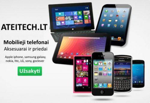 Mobilieji telefonai Samsung, iphone, Nokia, Sony, LG, HTC ir kiti