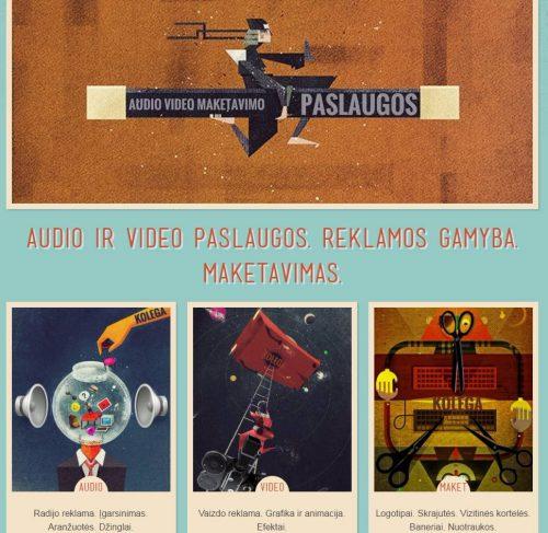 Vaizdo reklama. Grafika ir animacija. Efektai. Montažas.