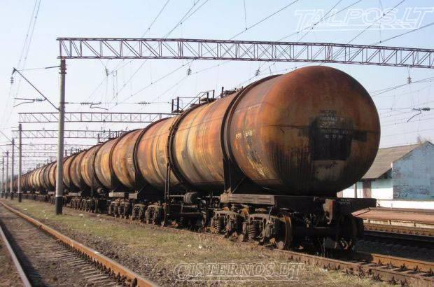 Traukinių cisternos, traukinių vagonai