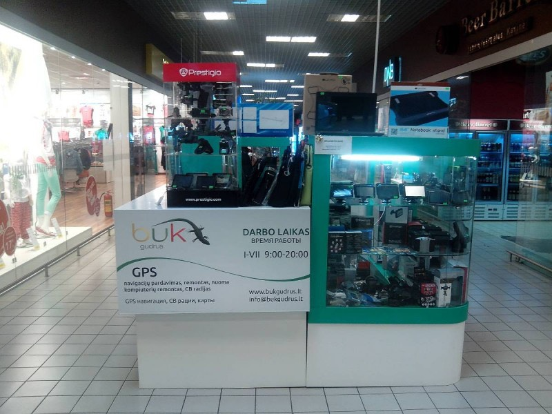 Greitas GPS navigacijų cb remontas, pardavimas