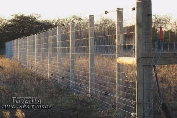 Tinklinė tvora, Tvoros tinklas: elniams, miškui, galvijams bei kt.