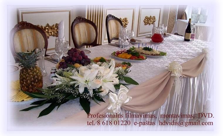 Vestuvių FILMAVIMAS, montavimas, Blu-ray / DVD tel. 8 618 01220