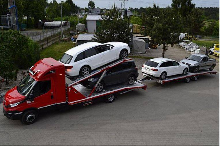 Automobilių parvežimas Europoje, techninė pagalba Lietuvoje, tralo paslaugos