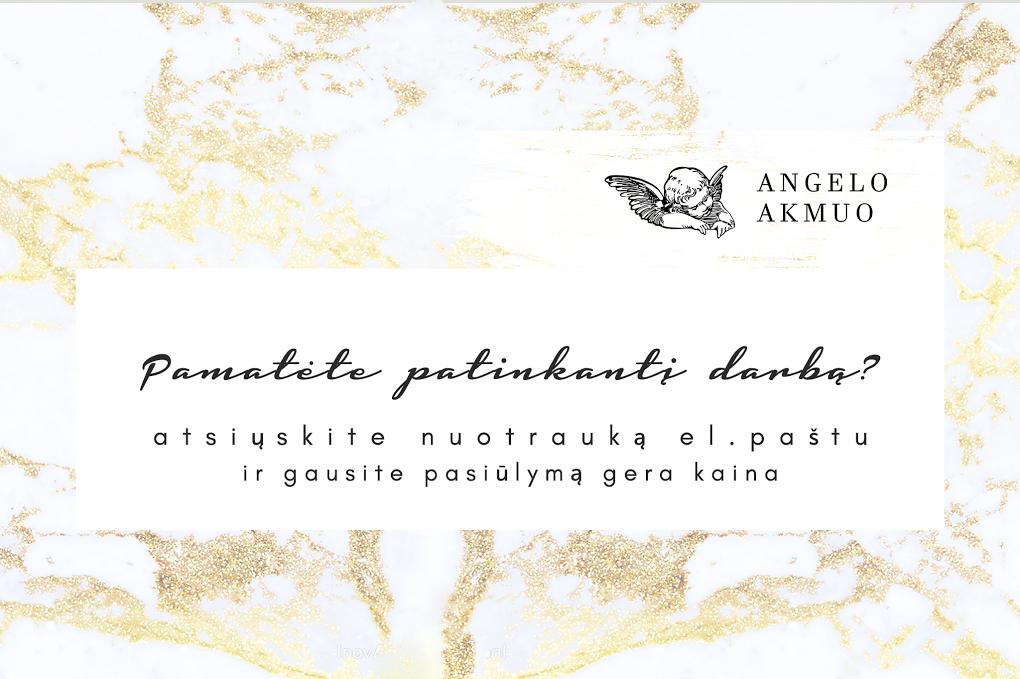 Kapų tvarkymas, Paminklai- Angelo akmuo