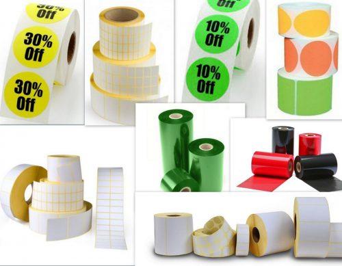 UAB LESKA etiketės, lipdukai, spausdintuvai, wax, resin