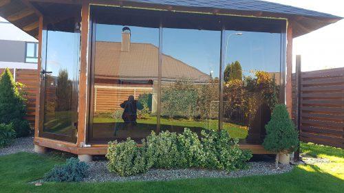 Balkonų ir terasų stiklinimas Sutaupykite
