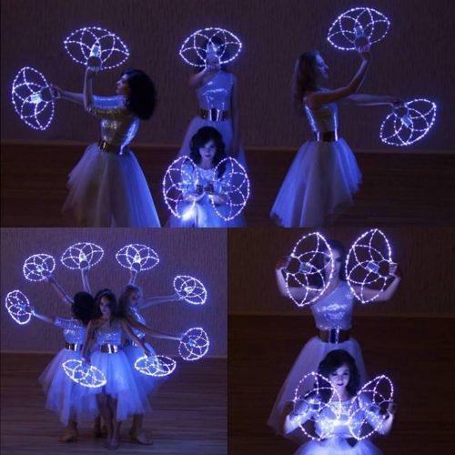 Šokių šou grupė Jūsų šventei  LED programa.