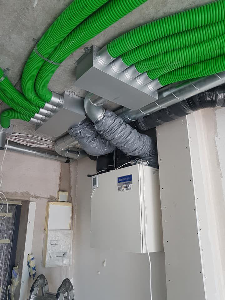 Šildymo, vėdinimo, oro kondicionavimo sistemos