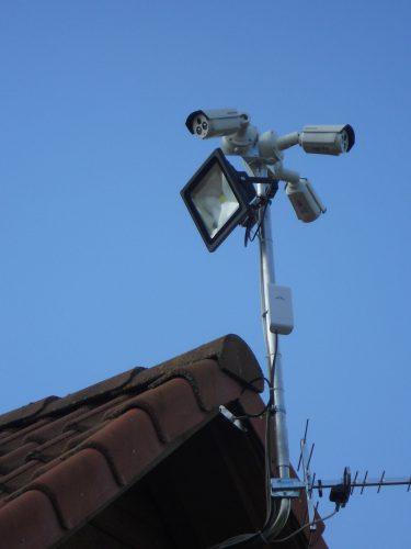 Vaizdo stebėjimo (apsaugos) kamerų montavimas