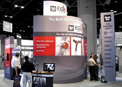 Mobilūs ekspoziciniai stendai parodoms, reklamai, konferencijoms ir kt.