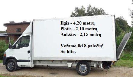 Transporto paslaugos iki 3,5t