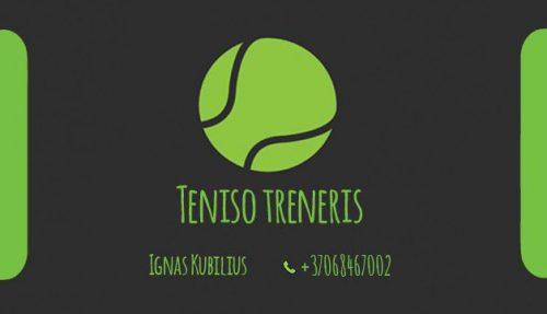 Lauko teniso treniruotės Vilniuje