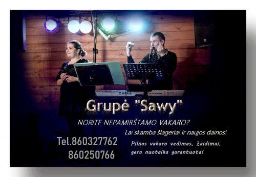 "Muzikantai grupė ""Sawy"""