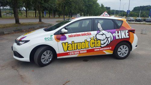 B Kategorijos vairavimo kursai Vilniuje