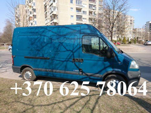 Perkraustymai Vilniuje 8 625 78064
