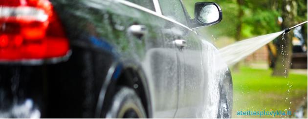 Automobilių plovimo – valymo paslaugos