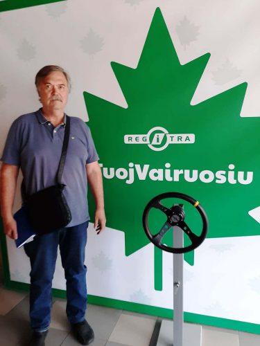 Vairavimo instruktorius Vilniuje