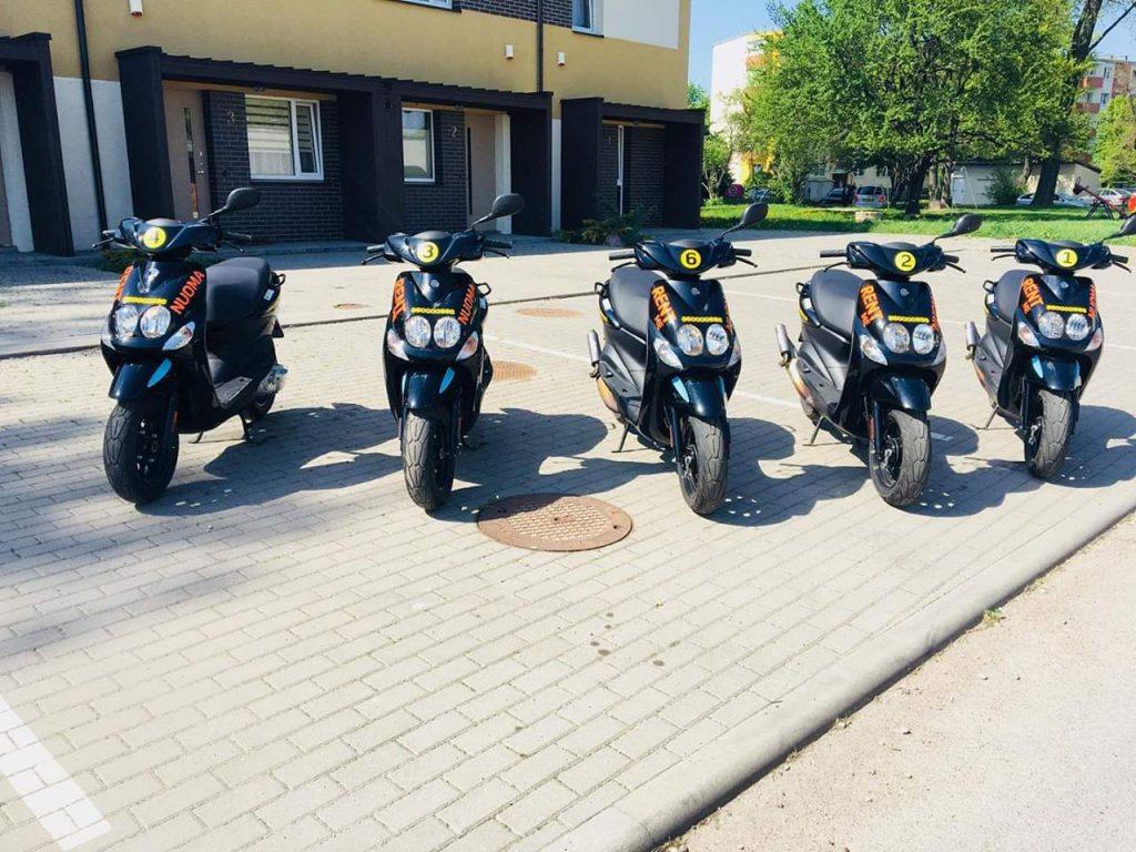 Motorolerių nuoma Klaipėdoje
