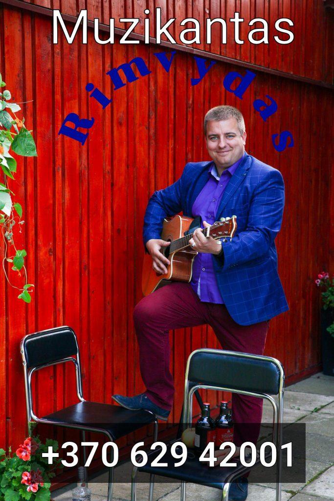 Muzikantas Rimvydas
