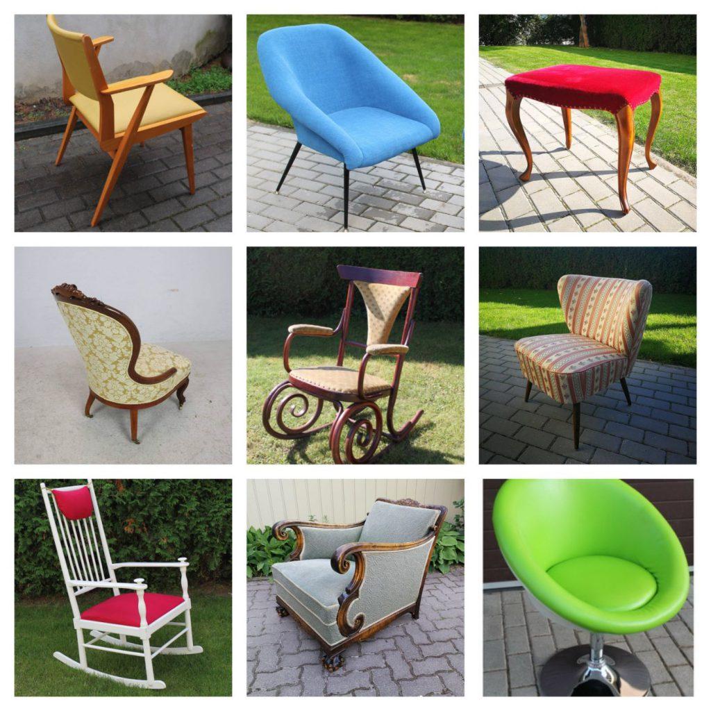 Kėdės, galima pertraukti Jūsų pageidaujamu audiniu bei spalva.