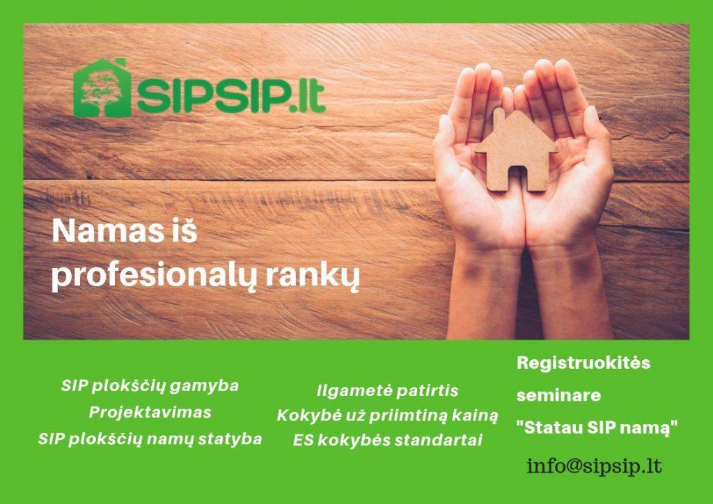 SIPSIP.LT- SIP plokščių gamyba bei skydiniai namai.