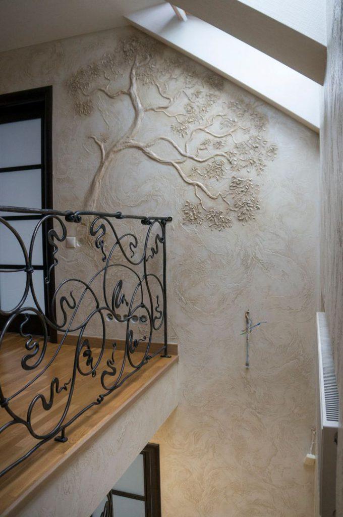 Meninis sienų dekoravimas
