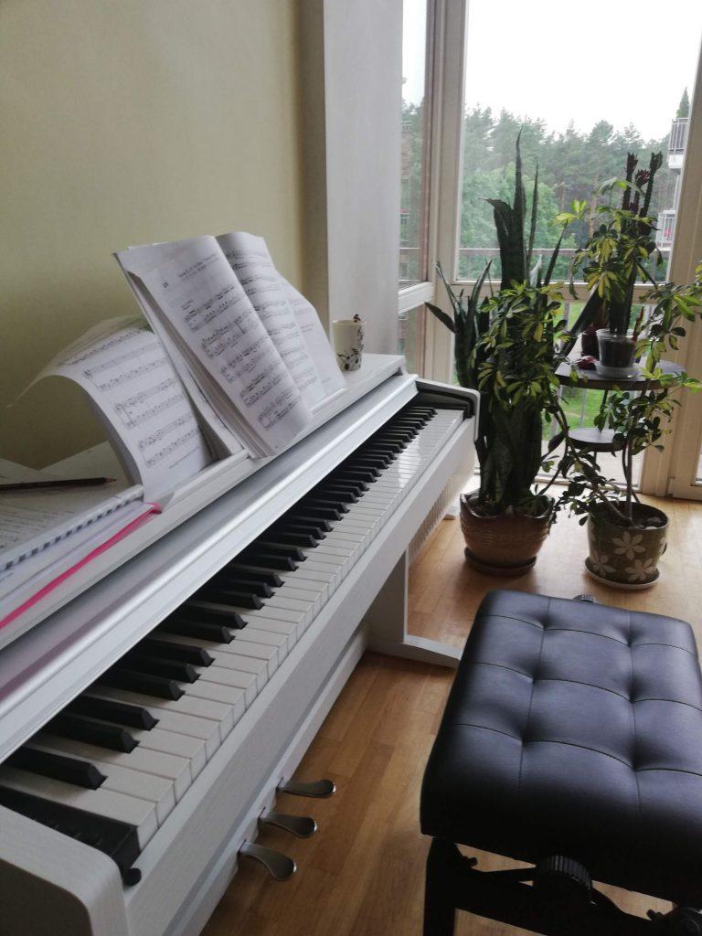 Pianino pamokos