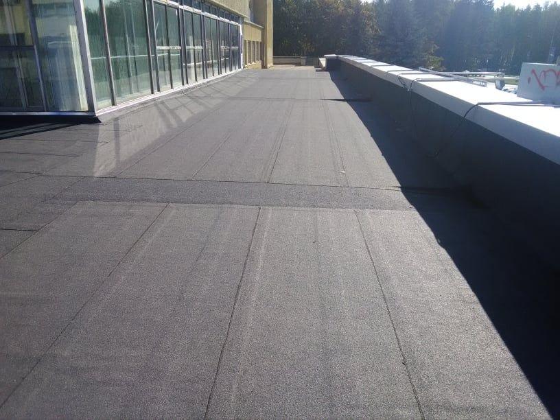 Plokščių stogų dengimas,šiltinimas,remontas.pamatų hidroizoliacija