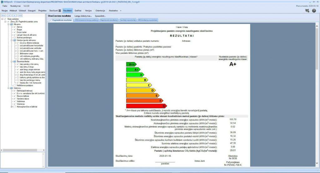 Pastato energinio naudingumo sertifikatas