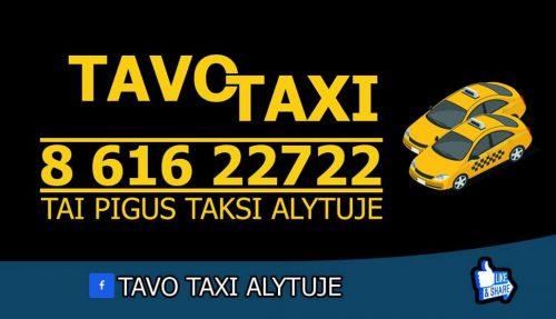 Tavo Taksi Alytuje
