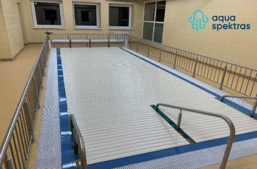 Vidaus baseinų valymas, atnaujinimas, įrengimas