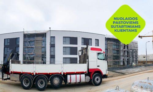 Krovinių pervežimas Vilniuje ir Vilniaus rajone