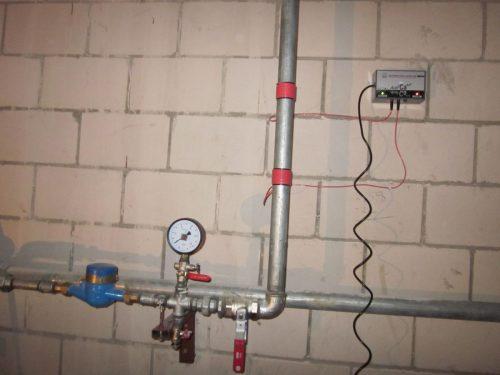 Elektroninis vandens paruošimo prietaisas, kalkių surišimo įrenginys