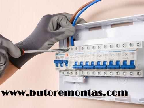 Elektros ir santechnikos darbai